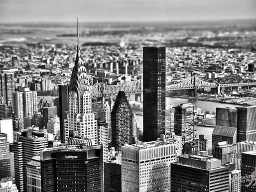 PRINTED ART - Mini-Manhattan
