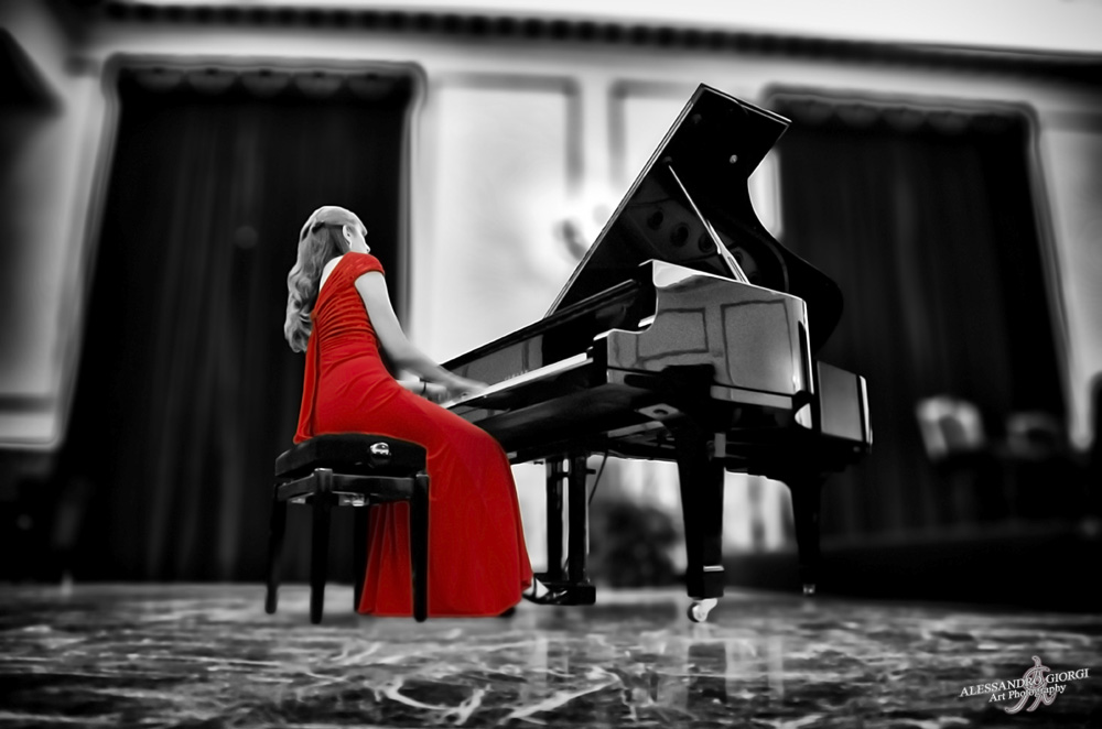 Music in red