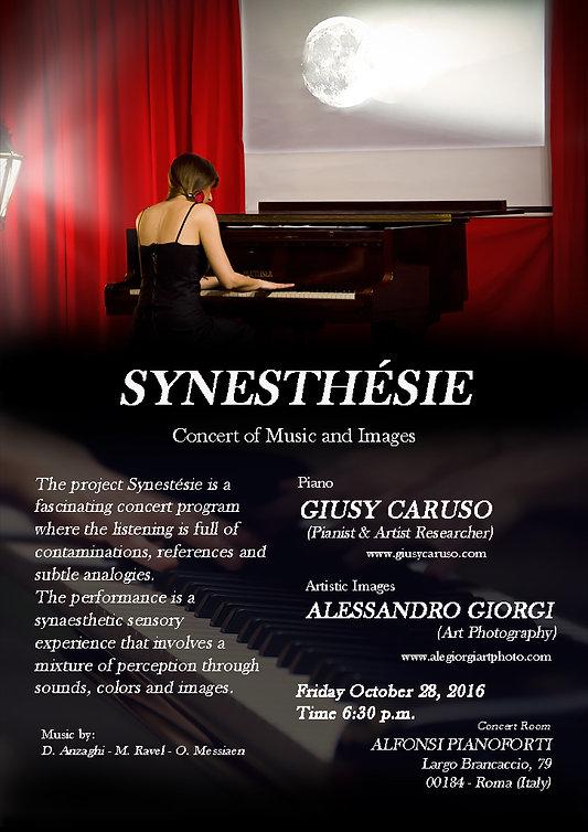 Synesthesie concert Rome