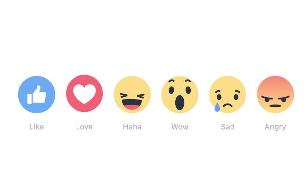 Facebook's new emoji icons