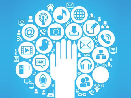 Email marketing v of social media.