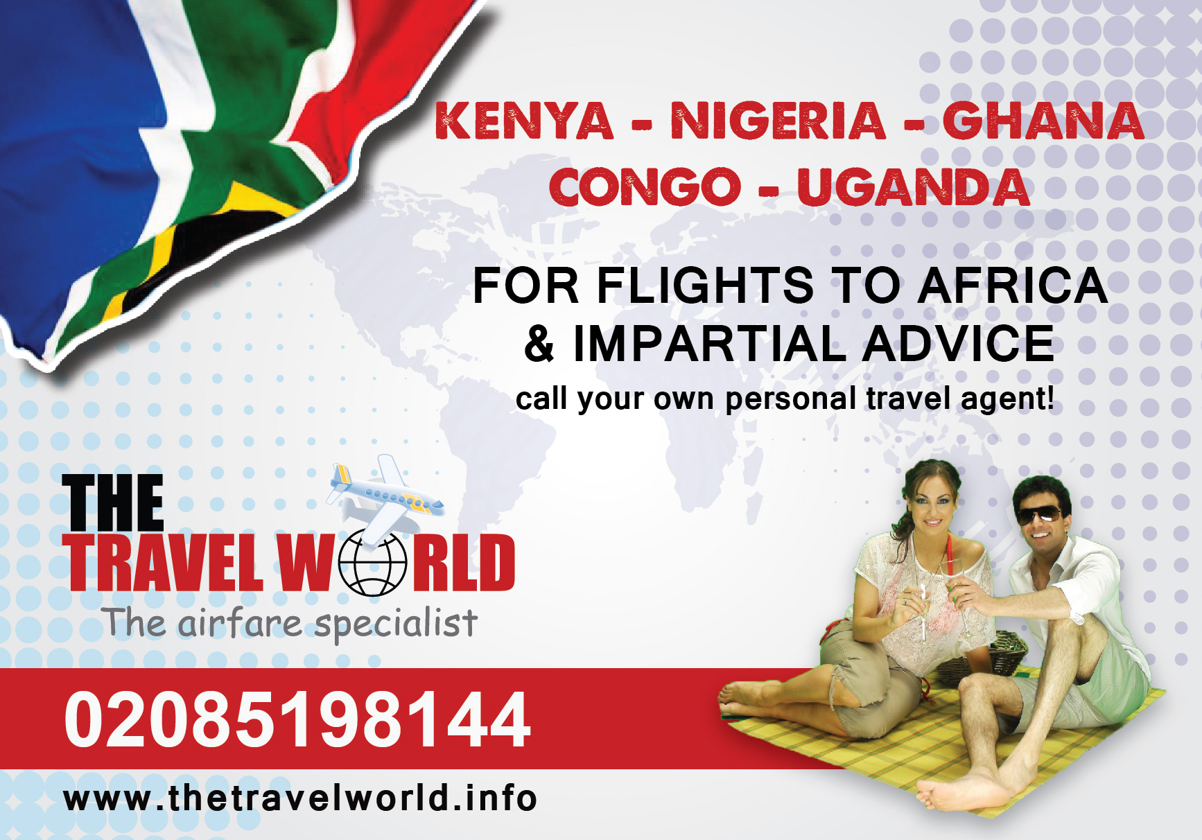 Travel World. Marketing Agency