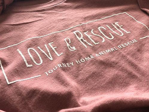 Love & Rescue Crew Tee