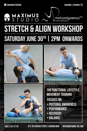 Saturday June 30, 2018 / 2PM: Join @MotionDynamicsLtd in an informative workshop @maximusstudiohk ab