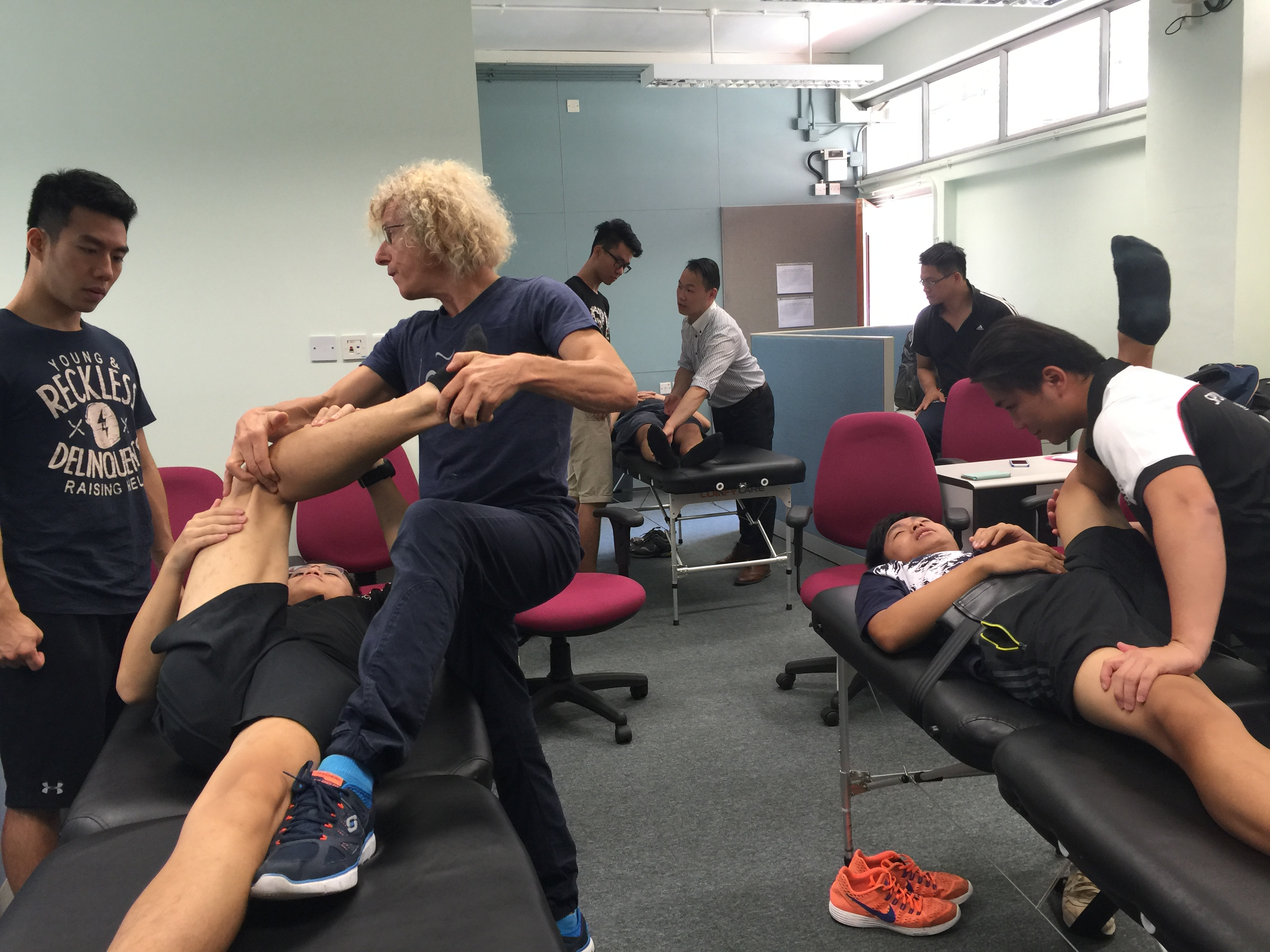 Assisted flexibility training