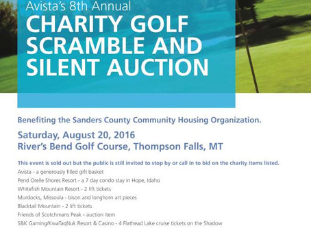 Avista Charity Scramble Update