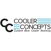 CUSTOM BEER KEG SHELVING FOR WALK-IN COOLERS