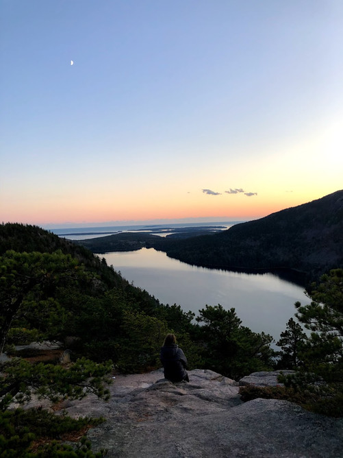 Bubble Rock Overlook, Mt. Desert Maine USA
