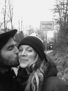 Kissing, Germany.