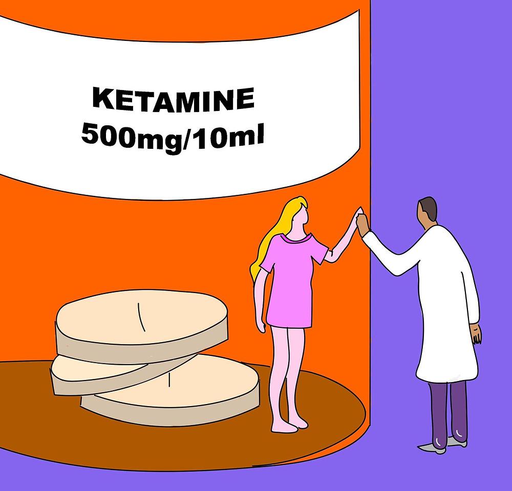 terapia di ketamina contro la depressione
