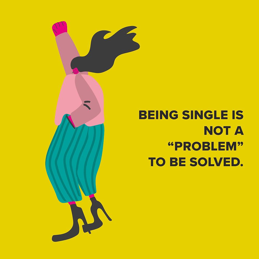 single e felice, perche sono single