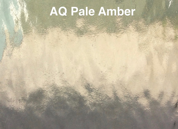 Aqualite water glass very pale amber