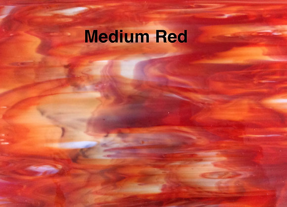 Opalescent  medium red