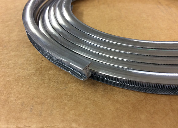 """Lead came 8mm x 5mm (3/8) round 2 metre length (6'6"""" inches)"""