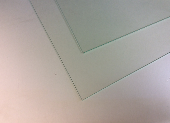 Pack of 2mm clear glass ideal Terrarium making 8 pieces