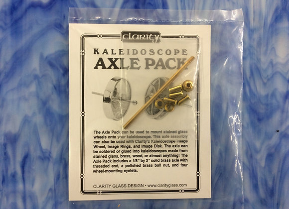 Axle pack for making Kaleidoscope components brass