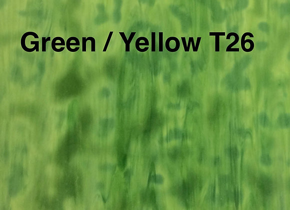 Green Yellow Ring Mottle