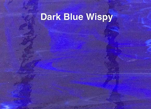 Opalescent dark blue wispy