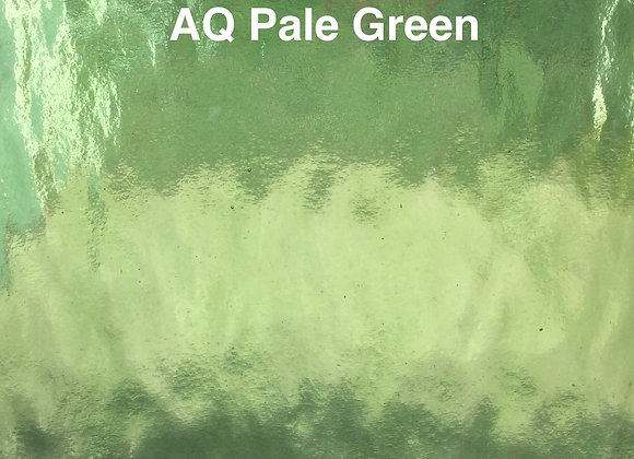 Aqualite water glass pale green