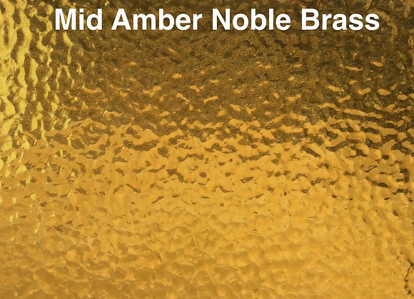 Muffle mid amber noble brass