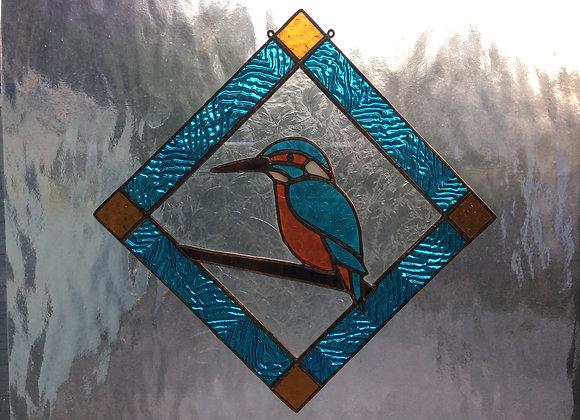 Pattern for Kingfisher sun catcher