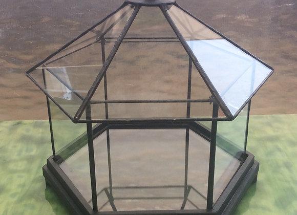 Hexagon Terrarium planter MDF precision cut patter