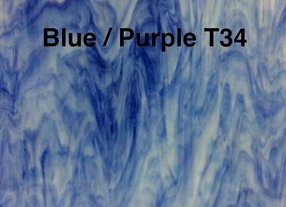 Blue Purple Mottle