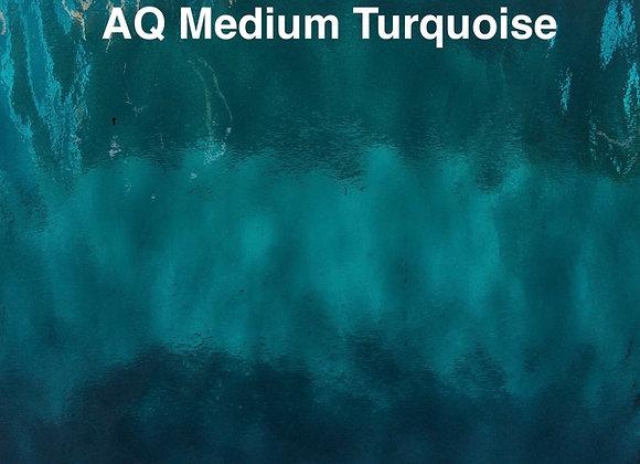 Aqualite water glass medium turquoise