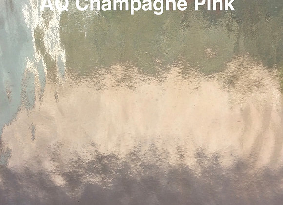Aqualite water glass champagne pink