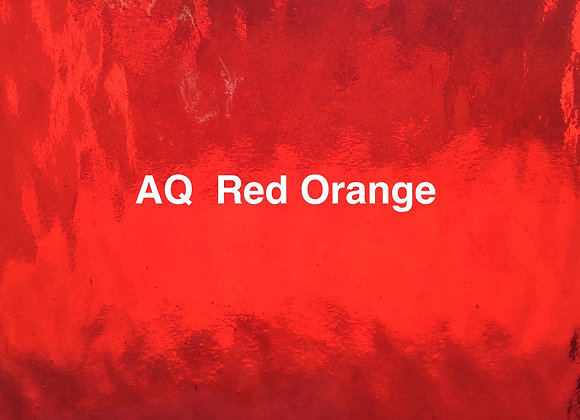 Aqualite water glass red / orange