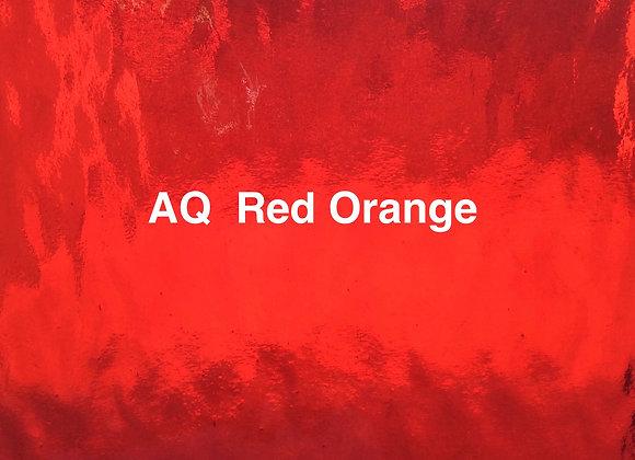 Aqualite water glass red / orange