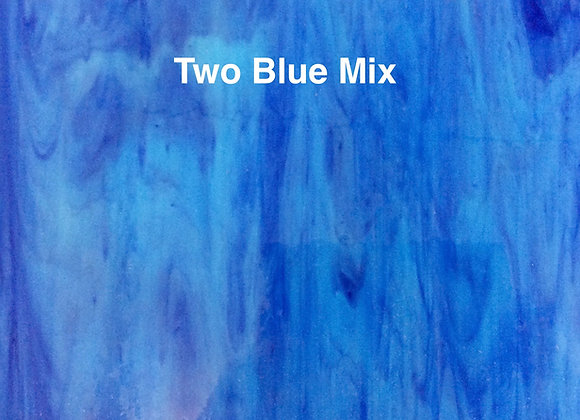 Opalescent two blue mix