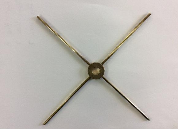 Four way brass spider