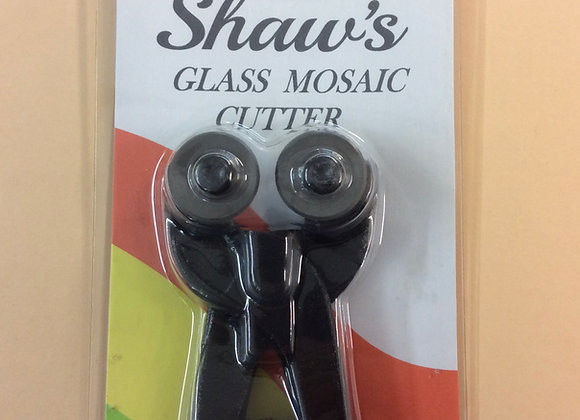 Shaws Mosaic glass cutters