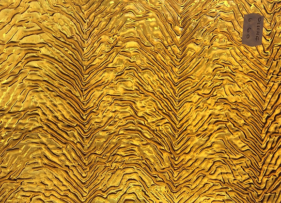Amber Herringbone Cathedral Glass