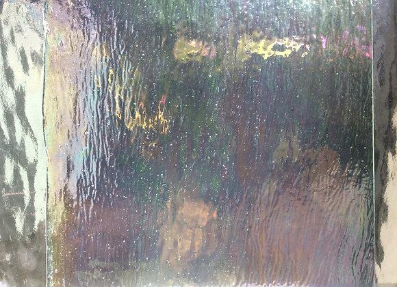 Transparent Iridised glass