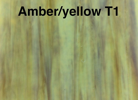 Ring mottle amber yellow