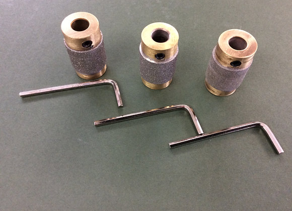 Set of three grinding head  3/4 inch