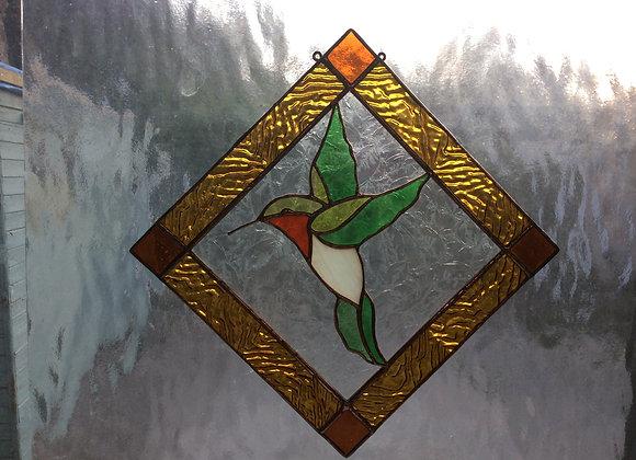 Pattern for Super Cute Humming bird sun catcher