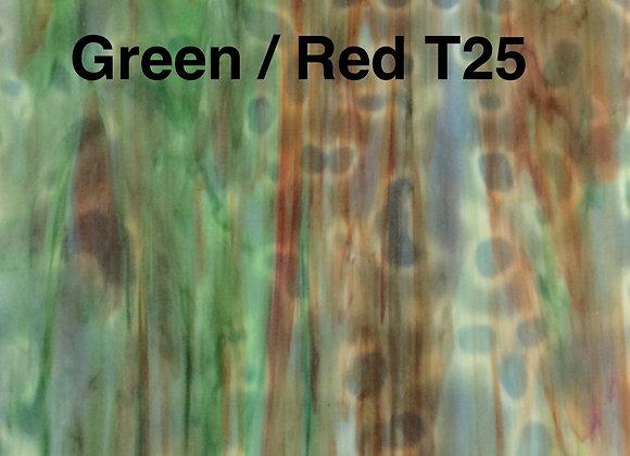 Green Red Ring Mottle