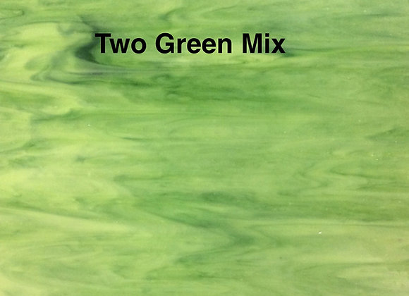 Opalescent two green mix
