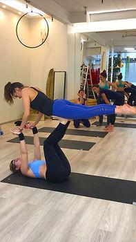 team building acro yoga