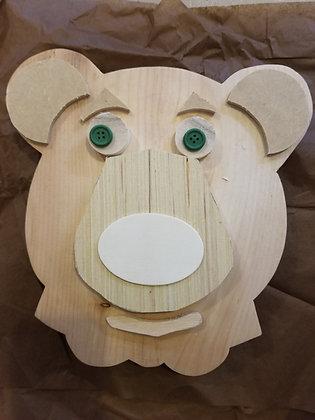 Build a Wooden Bear