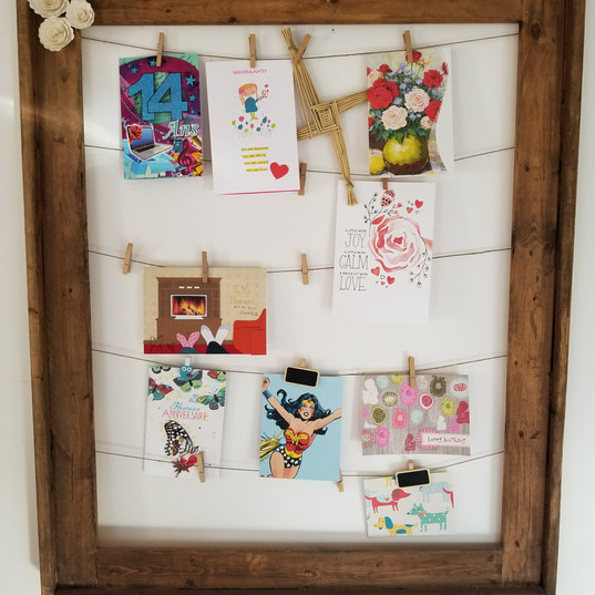 Clothpins Frame