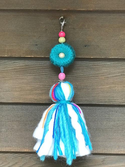 M-Turquoise Pompom