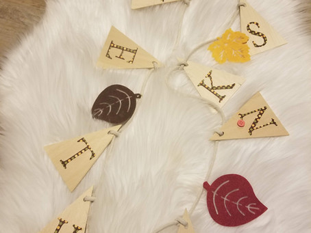 DIY Simple Wooden Banner: Woodworking for Kids