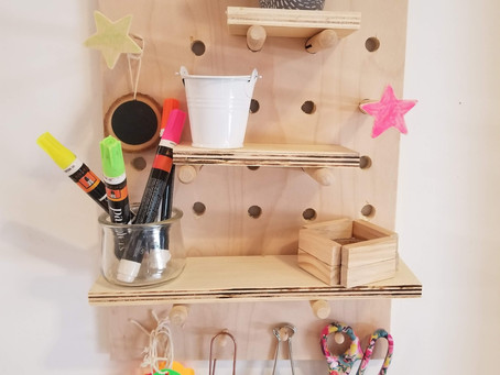 DIY Simple Desk Organizer: Woodworking with Kids