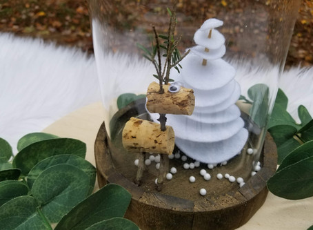 DIY Simple Winter Decoration: Woodworking with Kids