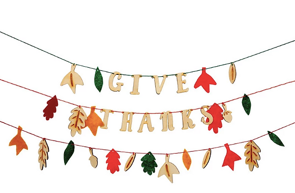 Sat. 11/20- Build a Story-Thanksgiving Banner