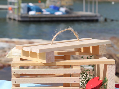 DIY Simple Wooden Lobster Trap: Woodworking with Kids